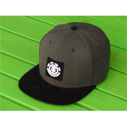 Boné Snapback Element United Grafitti/Velvet Black