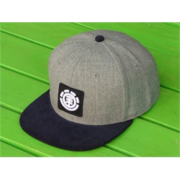 Boné Snapback Element United Grey/Velvet Blue
