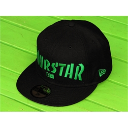 "Boné New Era Four Star Trasher - 7 3/8"" - 58,7cm Black/Green"