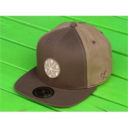 Boné Snapback Other Culture - Brown/Beige