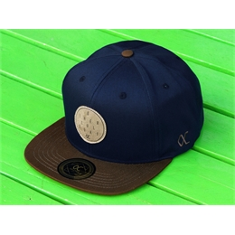 Boné Snapback Other Culture - Navy/Brown
