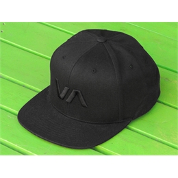 Boné Snapback RVCA VA II - All Black