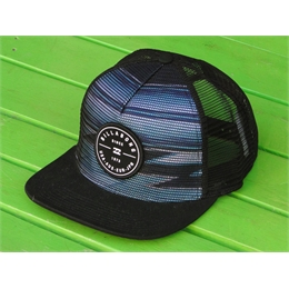 Boné Trucker Billabong Rotor - Blue/Black