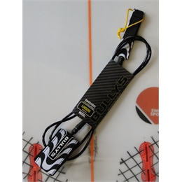 Leash Bully's Golden Series 6' - Black/White