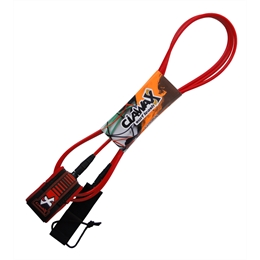 Leash Ciawax Long Pro 10' - All Red