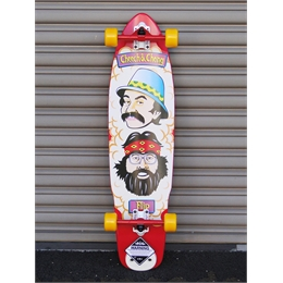 Longboard Montado Flip Cheech And Chong - 36""