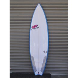 "Prancha Byrne MM Mini 6' - 6'0"" x 19 1/2"" x 2 9/16"" - 31,4lts"