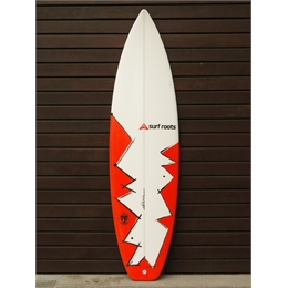 "Prancha Surf Roots Fly Boy 6' - 6' x 18 7/8"" x 2 1/2"""
