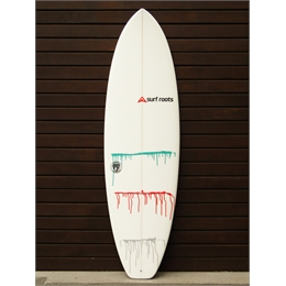 "Prancha Surf Roots Heavy Weight 6'2 - 6'2 x 21"" x 2 1/2"""