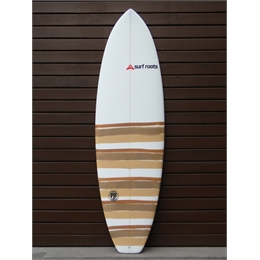 "Prancha Surf Roots Heavy Weight 6'3 - 6'3"" x 21 1/2"" x 2 7/8"""