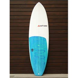 "Prancha Surf Roots Heavy Weight 6'4 - 6'4 x 20 7/8"" x 2 1/2"""