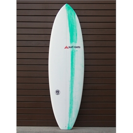 "Prancha Surf Roots Heavy Weight 6'5 - 6'5"" x 22"" x 2 5/16"""
