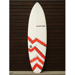 "Prancha Surf Roots Heavy Weight 6'5 - 6'5 x 20 7/8"" x 2 3/4"""