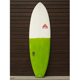 "Prancha Surf Roots Heavy Weight 6'6 - 6'4 x 22"" x 3"""