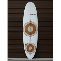 "Prancha Surf Roots Mini Funny Days 6'11 - 6'11"" x 22 3/8"" x 3 1/4"""