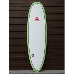 "Prancha Surf Roots Mini Funny Days 6'3 - 6'3"" x 21 1/2"" x 2 3/4"""