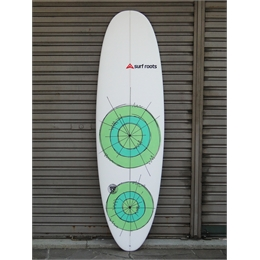 "Prancha Surf Roots Mini Funny Days 6'5 - 6'5"" x 22"" x 3"""