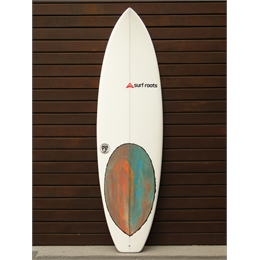 "Prancha Surf Roots The Beginning 6'4 x 20 3/4"" x 2 3/4"""