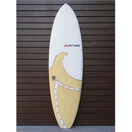 "Prancha Surf Roots The Beggining 6'6 - 6'6"" x 21 1/2"" x 3"""