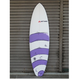 "Prancha Surf Roots The Beggining 6'7 - 6'7"" x 22"" x 3"""