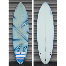 "Prancha Usada GB Evolution 6'4 - 6'4"" x 20"" x 3"""