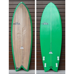 "Prancha Seminova Rabbit Old School 5'8 - 5'8"" x 21 1/4"" x 2 7/16"""