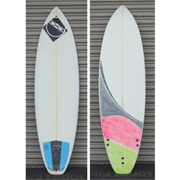 "Prancha Usada South To South 6' - 6'0"" x 19 5/8"" x 2 1/2"""