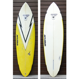 "Prancha Seminova Speed Line Single Fin 6'2 - 6'2"" x 19 3/4"" x 2 15/16"""