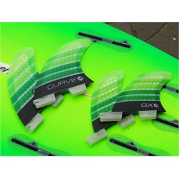 Quilha Magic Fins GX Quad Fiberglass Series - Medium