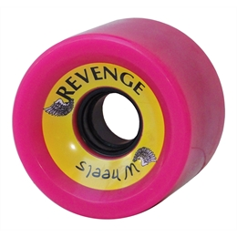 Roda Revenge Speed 76mm 83a - Neon Pink