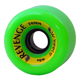 Roda Revenge Freeride 70mm 83a - Neon Green