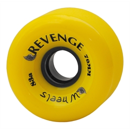 Roda Revenge Freeride 70mm 83a - Neon Green 70mm 83a