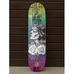 "Shape Wood Light Skate City - 32.25"" x 8.5"""