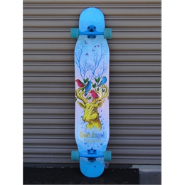 "Longboard Dancer Montado Deer Angel 46"" x 9.5"""